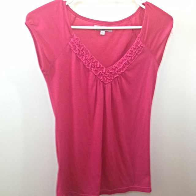 Hot Pink T-shirt (size S)