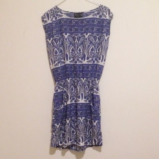 Intrinsic Blue Dress