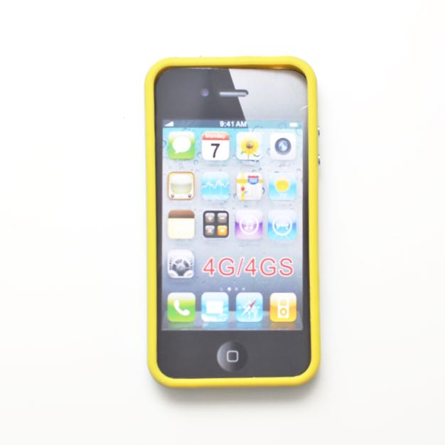 iPhone 4/4S Bumper Style Case