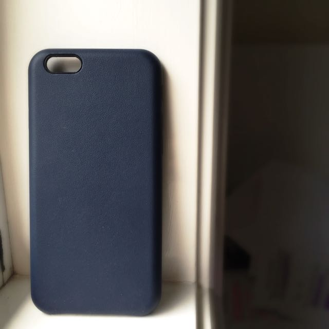 iPhone 6 Leather Case - Midnight Blue