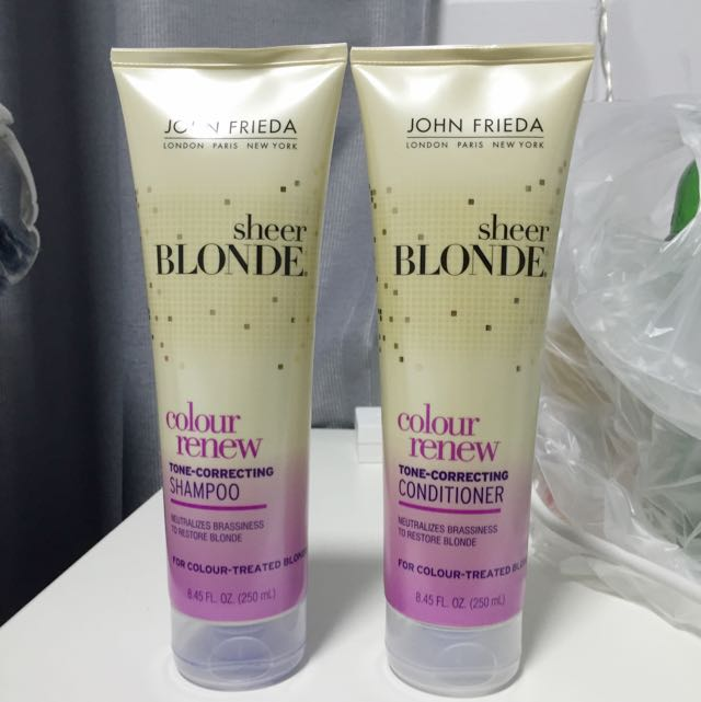 John Frieda Colour Renew Shampoo & Conditioner