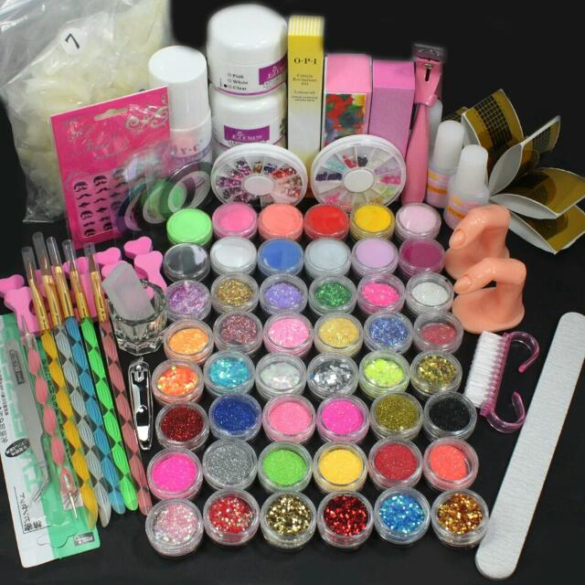 Manicure Tools & Nail Art Supplies Over 80+ pieces
