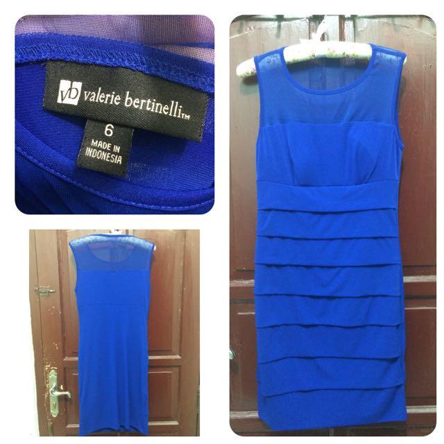 REPRICE!! PRELOVED Blue Dress