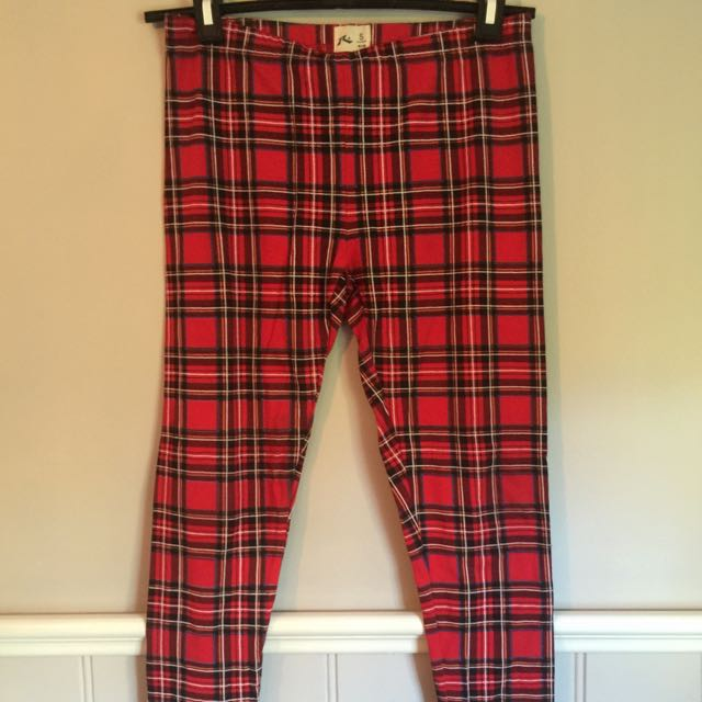 Rusty Tartan Leggings