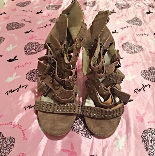 SIZE39 Perfect Strappy  Heels