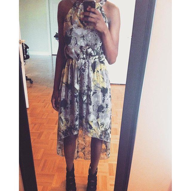 Vero Moda Halterneck Party Dress