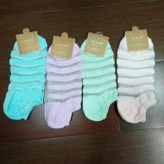 絲製短襪S~M