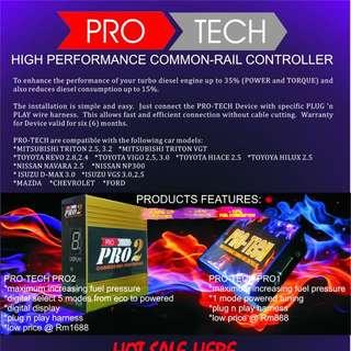 Pro Tech High Performance Diesel Commonrail Controller