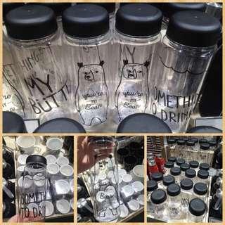 韓國 代購 透明簡約時尚 水瓶