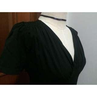 The Editor's Market Wonderland Black Dress
