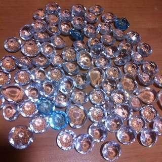 裝飾用透明塑膠珠珠