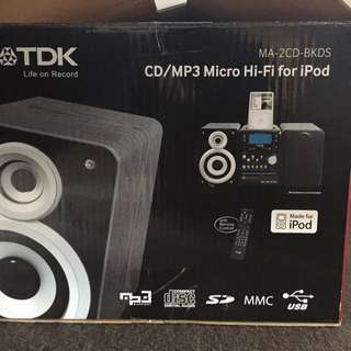 TDK CD/MP3 Micro Hifi