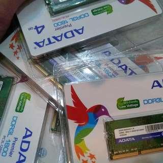 ADATA DDR3L 4G (原X屋要價5XX) 筆電 記憶體