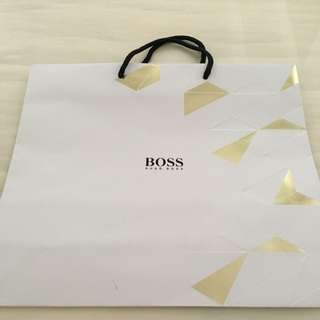 Almost Brand New Hugo Boss Big Paperbag For Sale!