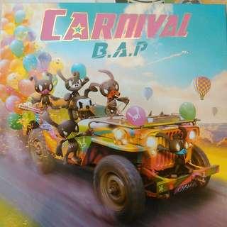 🚚 (郵寄含運)B.A.P Carnival普通版空專