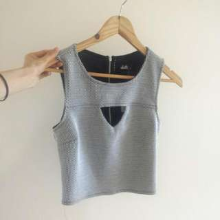 Dotti Crop Top - Size S (100% New) Party Time!!