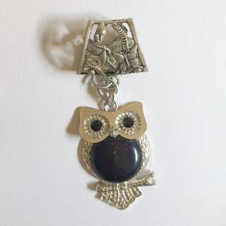 Owl Scarf Pendant