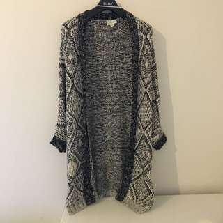 WITCHERY Oversized Knitted Cardigan