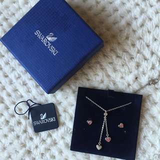 Swarovski Earring & Necklace Set