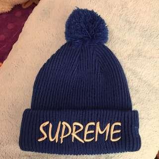 (二手含運) Supreme x New Era 毛帽