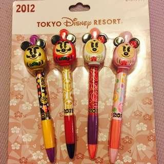 東京迪士尼2012限量福神造型筆