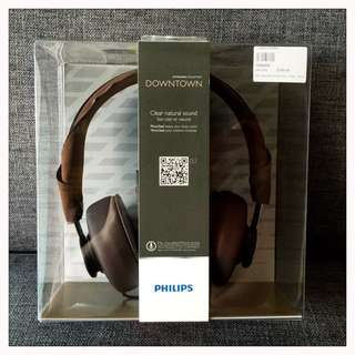 BNIB: Philips Headphone With Mic / Citiscape Collection Downtown