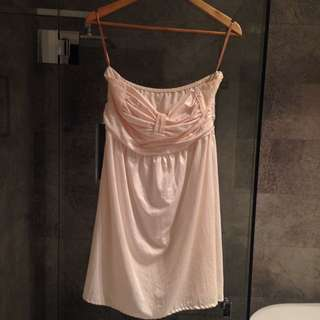 Lace You Dress - Cream, Size 10