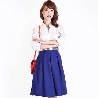 Aforarcade Cobalt Skirt Size m
