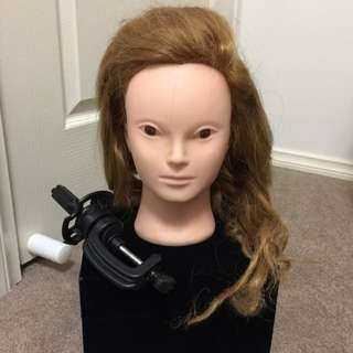 Hairdressing Training Head Practice Model Mannequin