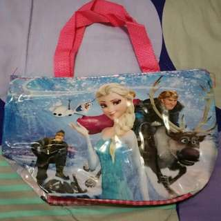 ✔ PRELOVED FROZEN GIRL'S HANDBAG