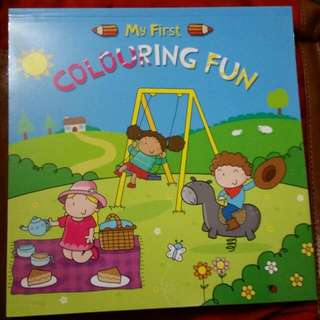 ✔ BN Kids Colouring Book