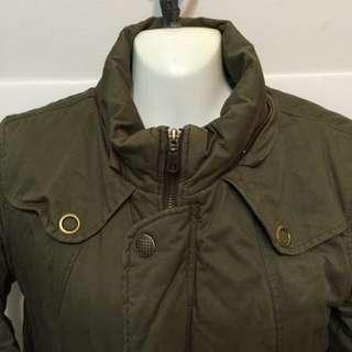 【二手】💞綠色軍系鋪面外套💞