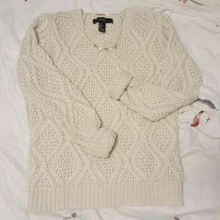 F21 Knit Sweater