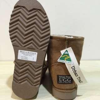 澳洲ugg純羊毛短靴24號