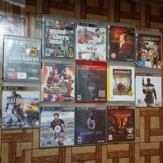 Many PS3 Games For Sale