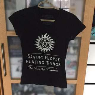 Hot Topic Supernatural Tee