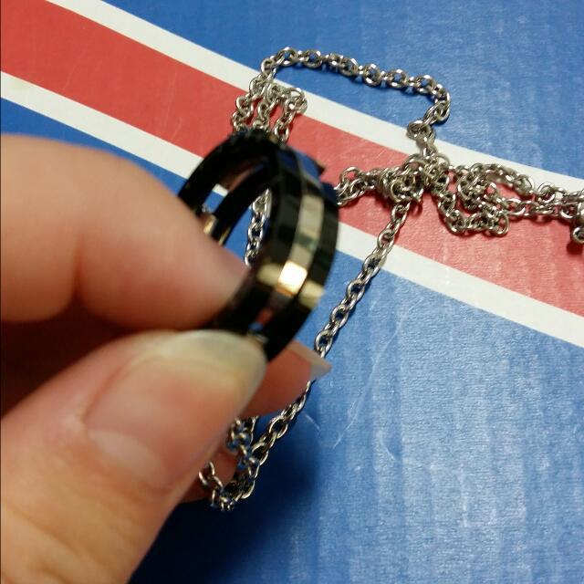 情侶戒指造型對鏈