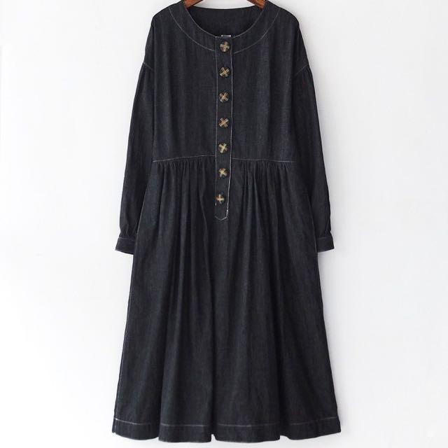 日本🇯🇵帶回的古著牛仔洋裝
