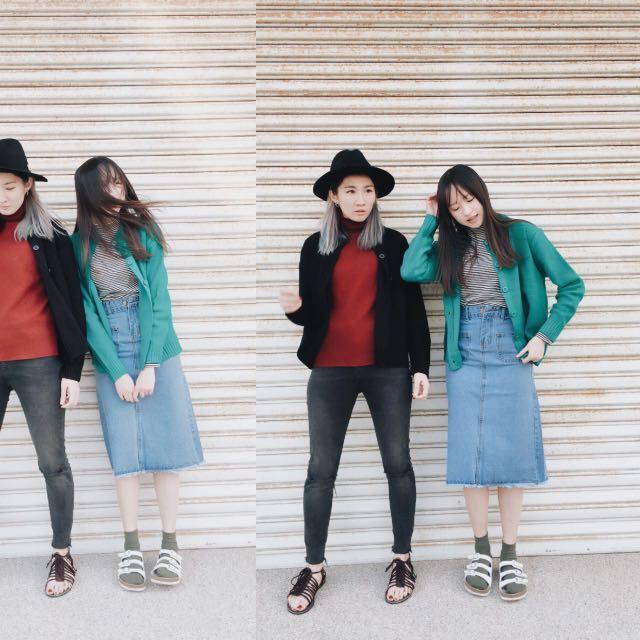 韓國百搭針織衫