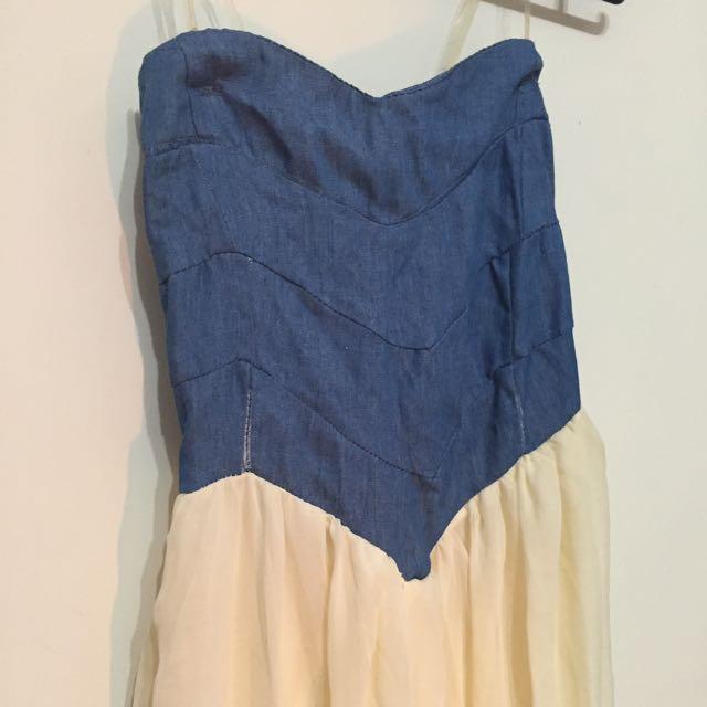 雪紡紗氣質長裙洋裝