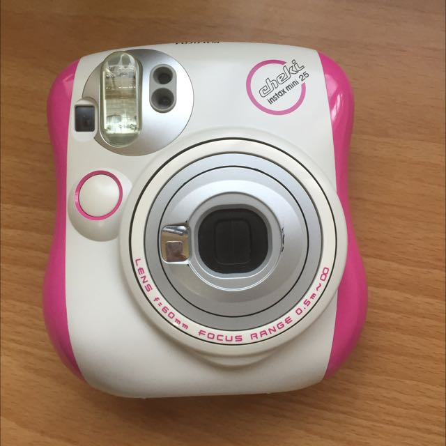 ❌暫售)賣場最低價❗️❗️❗️八成新拍立得 mini25 桃紅色(粉色