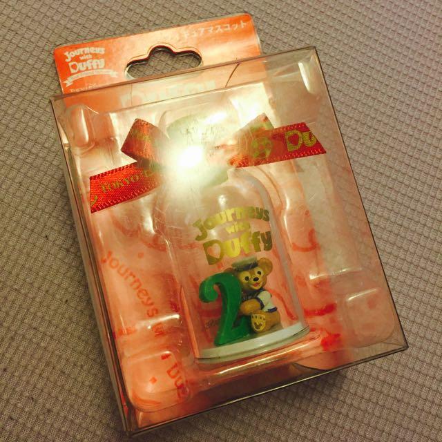 東京迪士尼 達菲許願瓶 幸運數字2