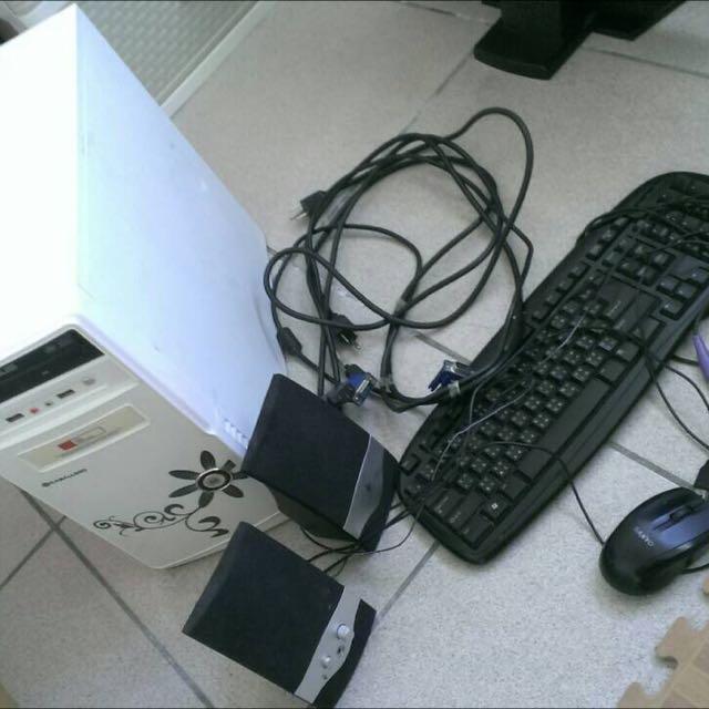 電腦 (含周邊)文書機 (二手)