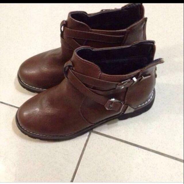 全新 內刷毛 短靴 靴子