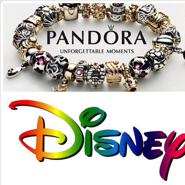 [美國代購]迪士尼限定潘朵拉吊飾 串珠 手鍊 手環