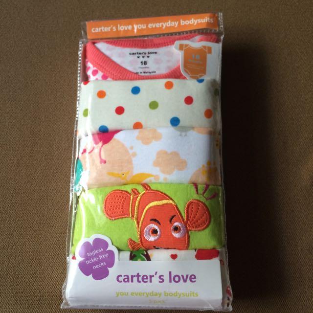 美國 Carter,s 短袖 嬰兒包屁衣