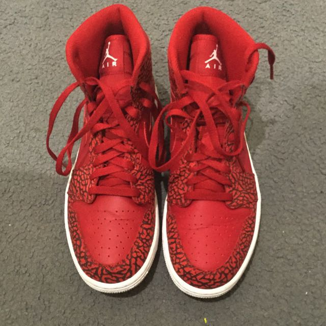 Air Jordan 1 High Red Elephant