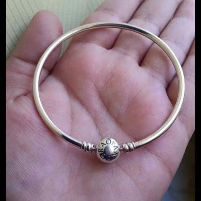 Authentic Limited Edition Pandora Bangle Size 17cm Small