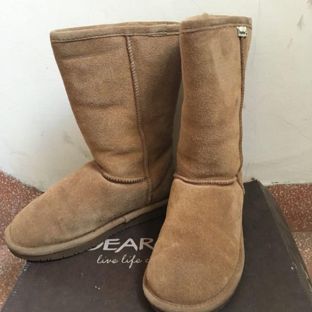二手)免運)bearpaw熊掌雪靴