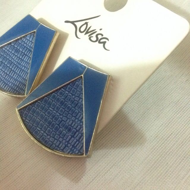 Blue Lovisa Earings